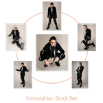 Immoral Ian stock Set by charligal-stock