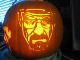 Breaking Bad Pumpkin by JoshuaLumitao