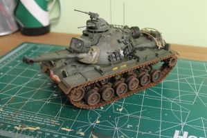 M48 Patton tank by WhoNeedsACoolName