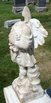 Mount Olivet Cemetery Angel 166 by Falln-Stock