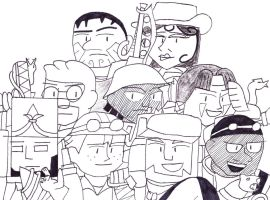 S.T.E.A.M. Fortress 2 by RosalinasSoulmate