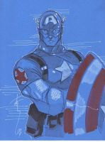 Captain America 40 by Hodges-Art