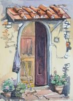 Tuscan Doorstep by Ainsworth