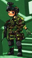 US Army 75 Ranger Regiment by lazyseal8