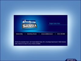 Samaa Business Card 2 by aliather