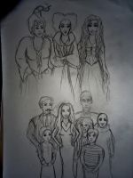Haunted Families by xitsveronikiox