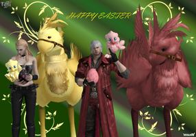Best wishes from uncle Dante by Tiffli