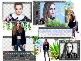 Cara Delevingne - Pack Png #O2 by TheNightingale01