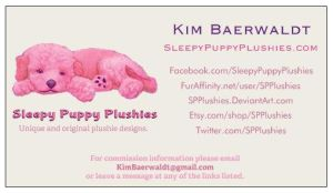 My new business cards :) by SPPlushies