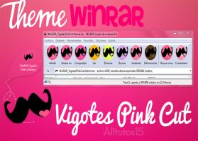 skin winRAR Vigotes Pink Cut by alitutos15