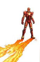 Marvel Now Iron Man 6 cvr by GURU-eFX