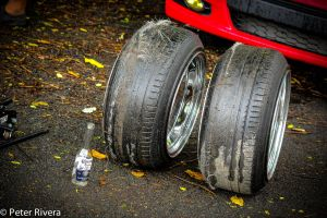 Beer and dead drift tires by Caramanos2000