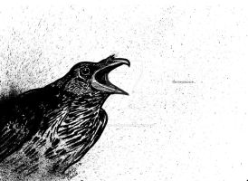 Quoth the Raven by Laughing-In-Hell