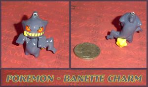 Pokemon - Banette Charm by YellerCrakka