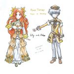 Rune Factory Tides of Destiny Lily and Aden by ChristopherDonLee