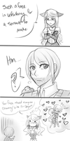 A Servant's Face by Eorii