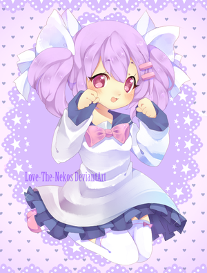 AT with puniuu by Love-The-Nekos