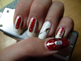 Roman Soldier nails by SarahJacky