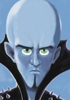 Megamind by Zharo