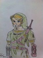 Link from Twilight Princess by thelinkleonxkennedy2