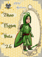 Zihao The Chibi Flygon by Hades-Mind