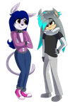 Jewel and Shawn by FantasyInsanity