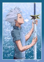 Bleach : Hitsugaya Toshiro by Tice83