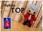 BigBang TOP Plush by SongAhIn