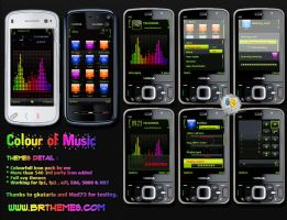 Colour Of Music by Blue_Ray by Brthemes