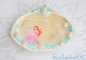 Ariel wonderland beauty resin tile by XDElisabeth69