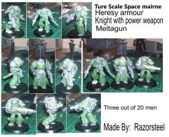 true scale marines 1 by razorsteel