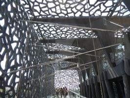 mucem outer corridor by amitm123