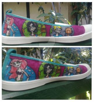 Disney Shoes by JokersCrowGirl