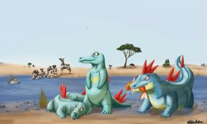 PokeSafari - Totodile