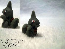 246 Larvitar by VictorCustomizer