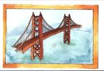 Golden Gate Bridge by zenobia