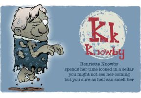K is for Knowby by Ape74