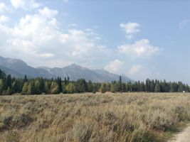 Cross Country Trip 2015: Grand Tetons #1 by BeyondFireComic