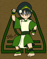 Toph Beifong by chelano