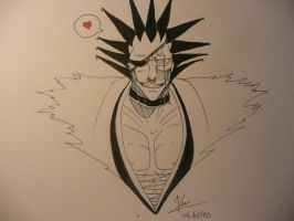 Kenpachi Love you by MiharuSokushi