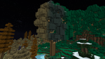 Minecraft - One Tree, Three Biomes by Flexico