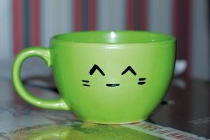 Smiling Mug by DashaOcean