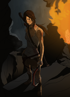 TOMB RAIDER 2013 Art Contest by theSN3S
