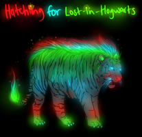 Tiger Hatchling for Lost-in-Hogwarts by TheFireGypsy