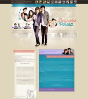 eclare - degrassi poland - wp template by FashionVictim89