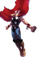 Thor Vector by anubis55