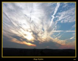 Bryn Athyn Sunset 2 by David-A-Wagner