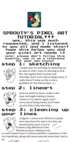 PIXEL ART TUTORIAL!! by star-sprout