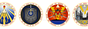 The Four Ministries of Oceania by ZFShadowSOLDIER
