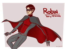 Robin - Terry McGinnis by alshshaen